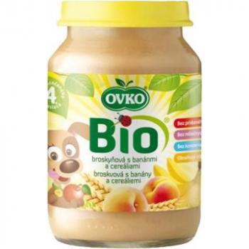 Detská výživa s banánmi a cereáliami OVKO 190g - BIO