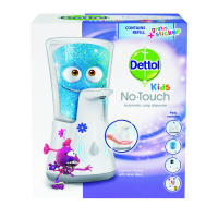 DETTOL Kids Bezdotykový dávkovač mydla Dobrodruh 250 ml