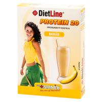 DIETLINE Proteín 20 Koktejl Banán 3 vrecká