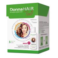 DONNA HAIR Forte 3mesačná kúra 90 kapsúl + Šampón 100 ml