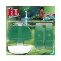 DR DEVIL tekutý wc blok3x55ml 3v1 natur fresh