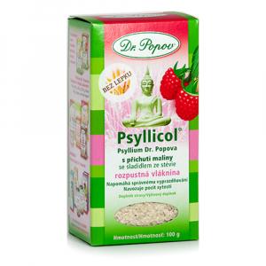 DR. POPOV Psyllicol s príchuťou maliny 100 g