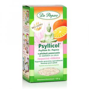 DR. POPOV Psyllicol s príchuťou pomaranča 100 g
