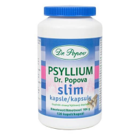 DR.POPOV Psyllium Slim 120 kapsúl