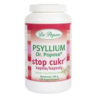 DR. POPOV Psyllium Stop cukor 120 kapsúl
