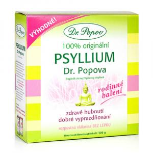 DR. POPOV Psyllium vláknina 500 g