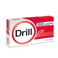 DRILL 24 tvrdých pastiliek