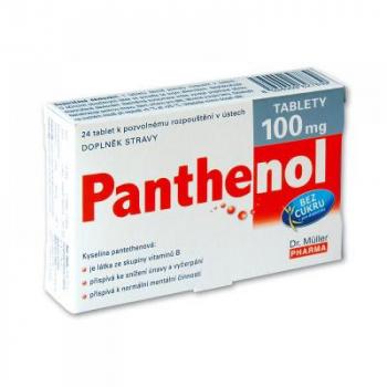 Dr Müller Panthenol 100 mg 24 tabliet