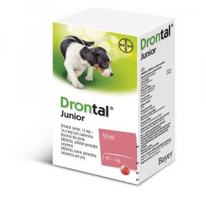 DRONTAL Junior perorálna suspenzia pre psov 50 ml