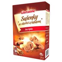 GLUTALINE Sušienky so škoricou a kakaom bez lepku 140 g