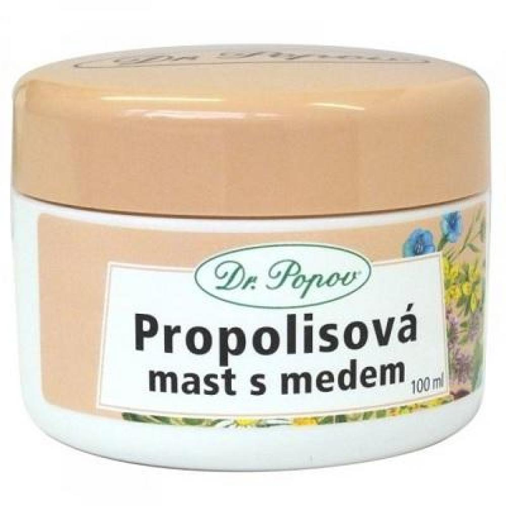 DR. POPOV Propolisová masť s medom 100 ml