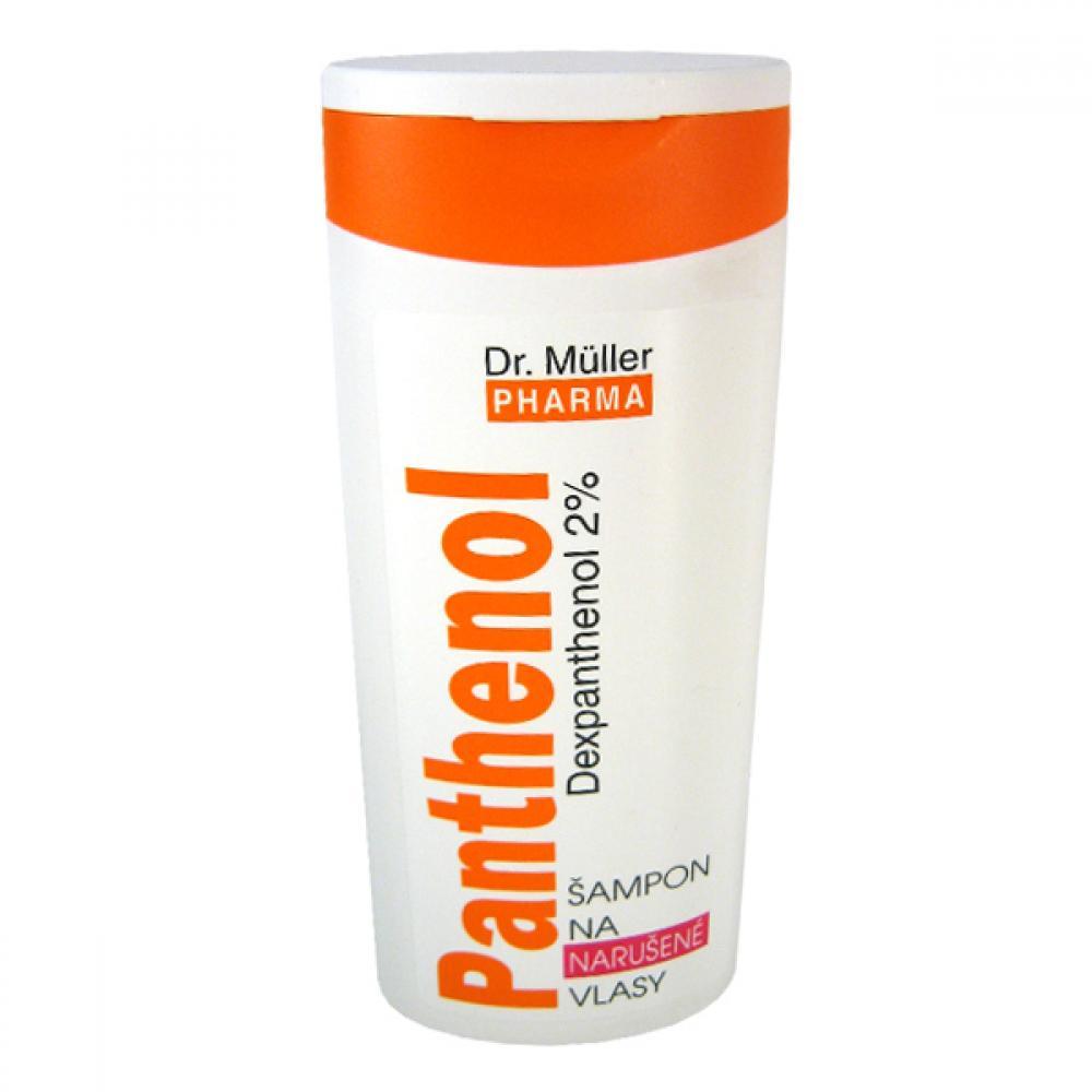 Panthenol šampón narušené vlasy 250ml Dr. Müller