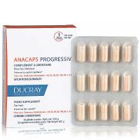 DUCRAY Anacaps Progressiv chronické vypadávanie vlasov 30 kapsúl