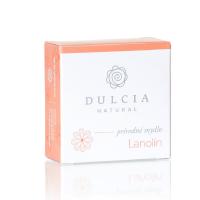 DULCIA Natural Prírodné mydlo Lanolin 90 g