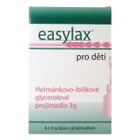 EASYLAX - detské preháňadlo Chamomile ampule 6 x 3 g