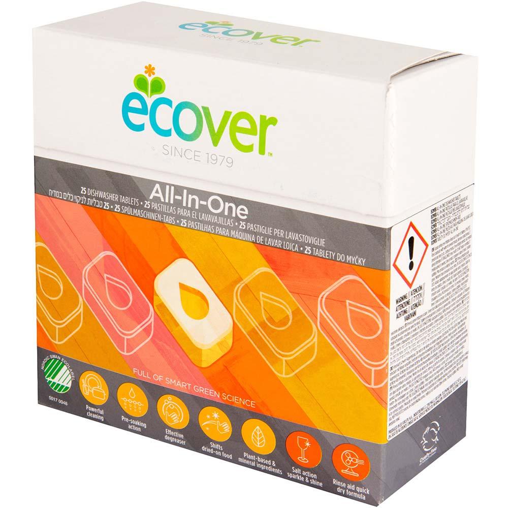 Ecover Tablety do umývačky All in one 25 kusov