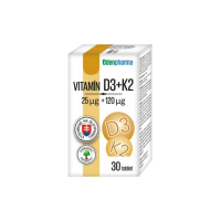 EDENPHARMA Vitamín D3 + K2 tablety 30 ks