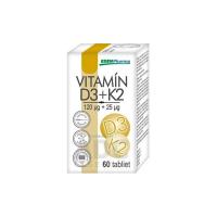 EDENPHARMA Vitamín D3 + K2 tablety 60 ks