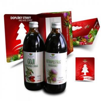 EkoMedica Duopack Goji 500 ml + Ostropestrec 500 ml