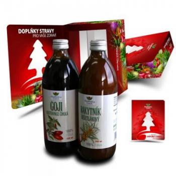 EkoMedica Duopack Goji 500 ml + Rakytník rešetliakový 500 ml