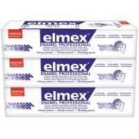 ELMEX Enamel Protection Professional zubná pasta 3 x 75 ml