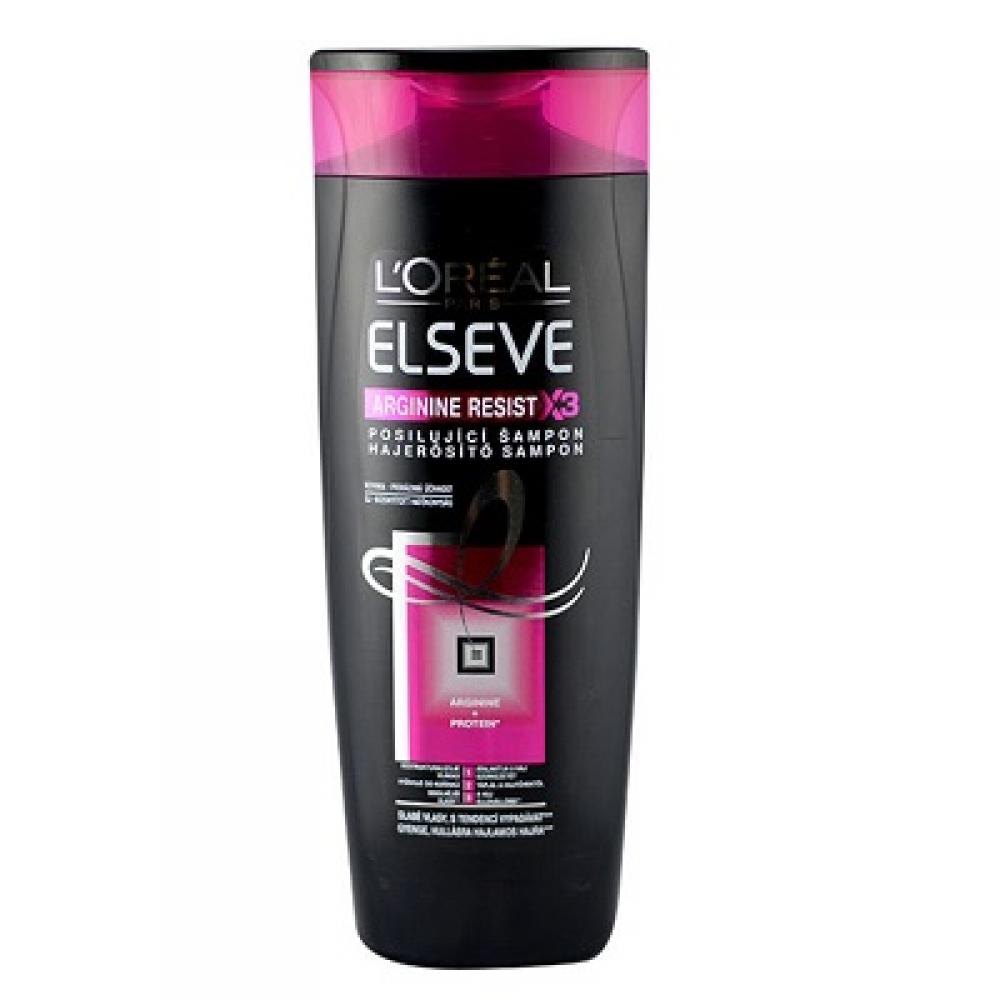 L'ORÉAL Elseve Arginine Resist X3 šampón na poškodené vlasy 250 ml