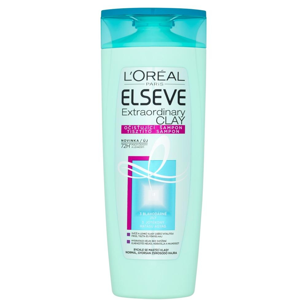 L'ORÉAL Elseve Extraordinary Clay šampón 250 ml