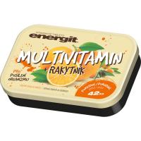 Energit Multivitamín pomaranč 42 tabliet