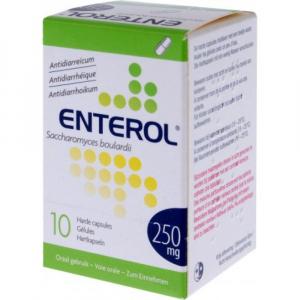 ENTEROL 250 mg tvrdé kapsuly 10 ks