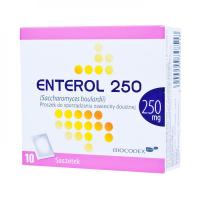ENTEROL 250 mg prášok na perorálnu suspenziu plu por 10 vrecúšok