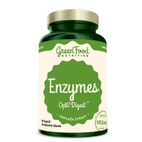 GREENFOOD NUTRITION Enzýmy opti7 digest 90 kapsúl