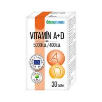 EDENPHARMA Vitamín A+D 5000 i.u./400 i.u. tablety30 ks