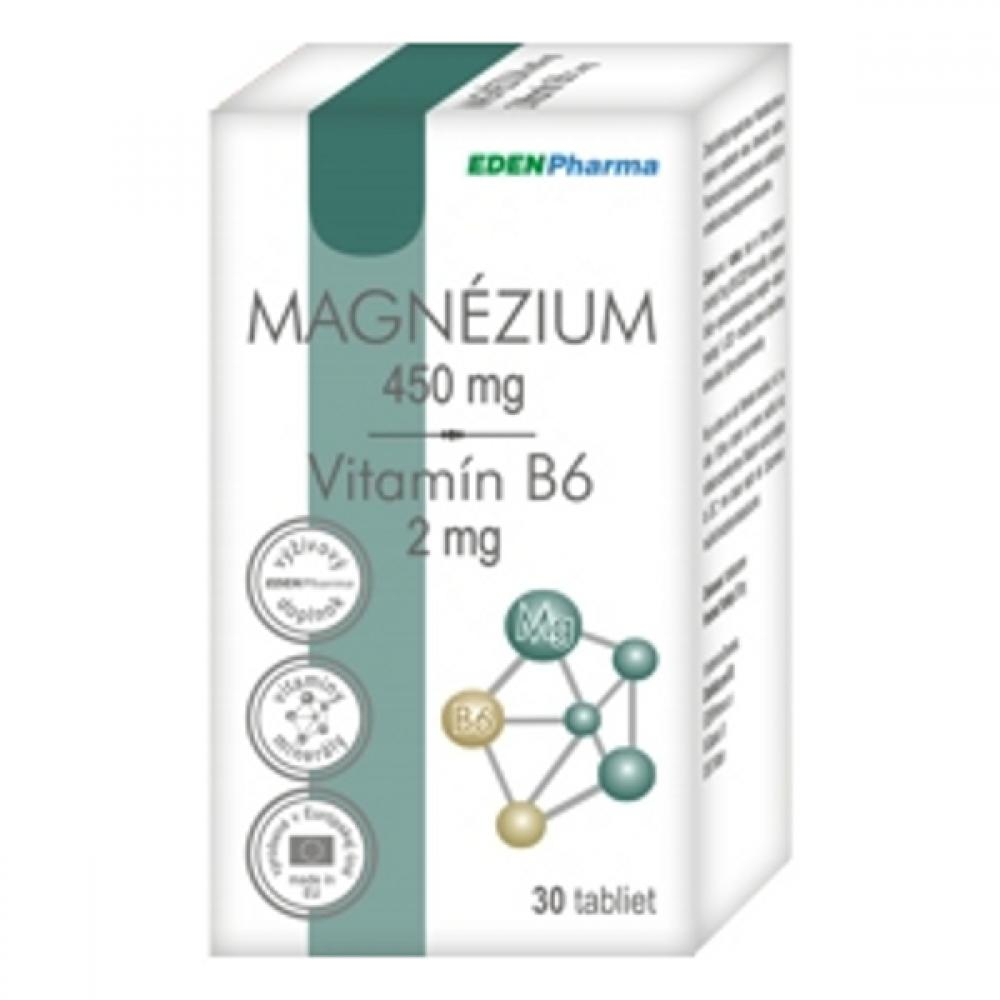EP Magnézium + Vitamín B6 - 30 tabliet