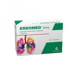 ERDOMED 225 mg granulát na perorálnu suspenziu 20 vrecúšok