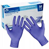 ESSENTI CARE Jednorazové nitrilové rukavice veľkosť M 100 kusov