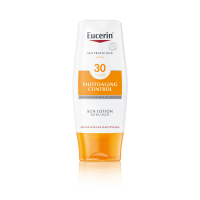 EUCERIN Extra ľahké mlieko na opaľovanie Photoaging Control SPF 30 150 ml