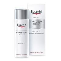 EUCERIN HYALURON-FILLER Intenzívny vypĺňajúci denný krém proti vráskam pre normálnu až zmiešanú pleť 50 ml