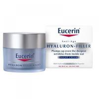 EUCERIN HYALURON-FILLER Intenzívny vypĺňajúci nočný krém proti vráskam 50 ml
