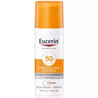 EUCERIN Sun CC krém na opaľovanie SPF 50+ stredne tmavý 50 ml