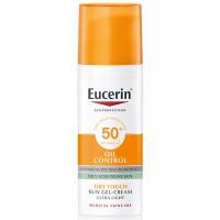EUCERIN Sun Gél na opaľovanie tváre OIL CONTROL SPF 50+ 50 ml