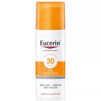 EUCERIN Sun Ochranný krémový gél na opaľovanie na tvár OIL CONTROL SPF 30 50 ml