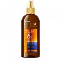 EVELINE Amazing Oils opaľovací olej s akcelerátorom SPF 6 150 ml