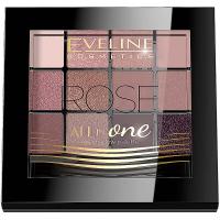 EVELINE Očné tiene All in One - ROSE