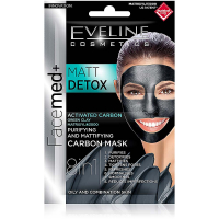 EVELINE Facemed Matt Detox maska 8v1 2x5 ml