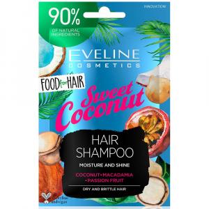 EVELINE Food For Hair Šampón na vlasy Coconut 20 ml