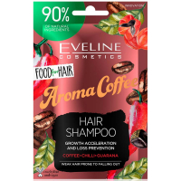 EVELINE Food For Hair Šampón na vlasy Coffee 20 ml