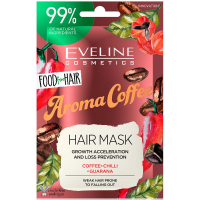 EVELINE Food For Hair Vlasová maska Coffee 20 ml