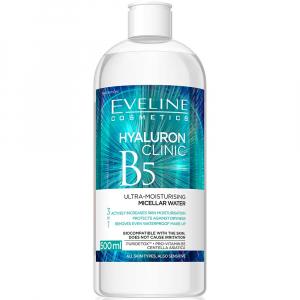 EVELINE Hyaluron Clinic Micelárna voda 500 ml