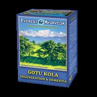 EVEREST AYURVEDA Gotu Kola starnutie mozgových funkcií sypaný čaj 100 g