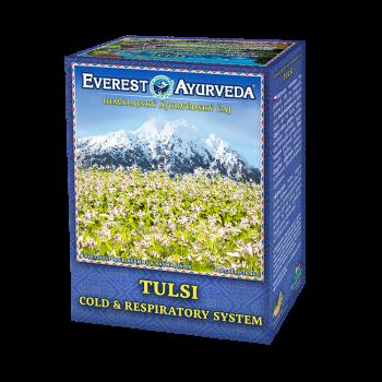 EVEREST AYURVEDA Tulsi krčná oblasť a priedušky sypaný čaj 100 g